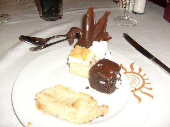 Grand Bahia Principe La Romana: Desserts excellent
