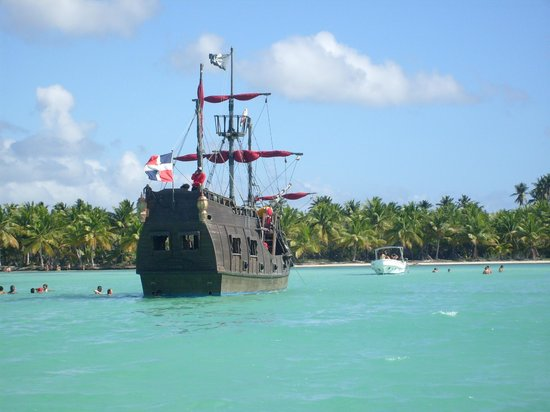 Grand Bahia Principe La Romana: Bateau Pirates Excursion à Saona