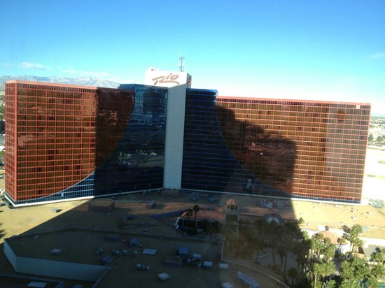 Rio All-Suite Hotel & Casino: View of other tower from 19th floor.