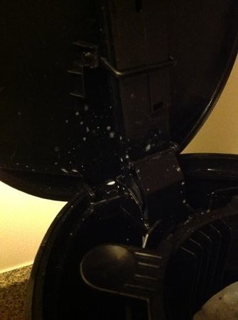 TownePlace Suites Boulder Broomfield/Interlocken: Awaken to mold inside your coffee maker