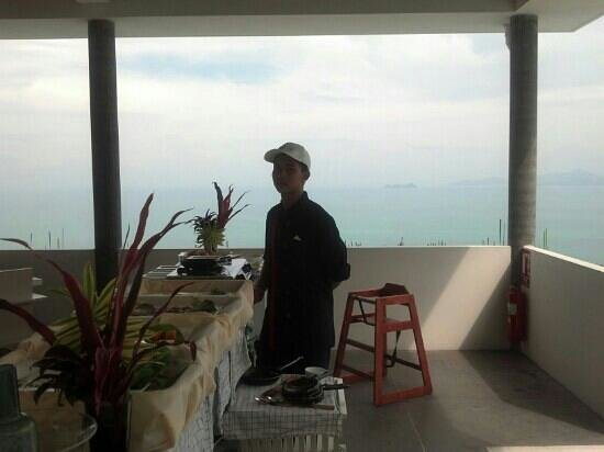 Infinity Residences & Resort Koh Samui: breakfast