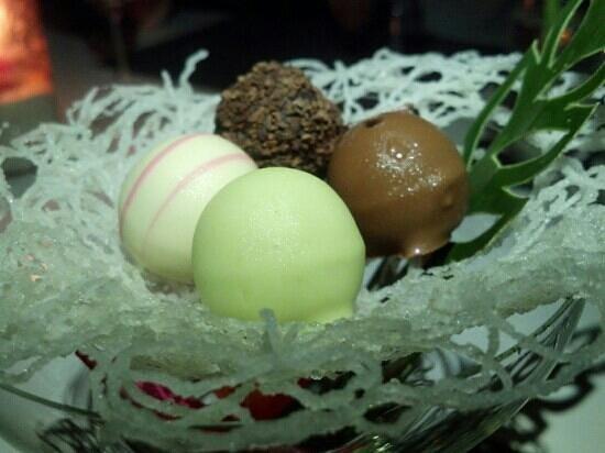 Infinity Residences & Resort Koh Samui: new year dessert