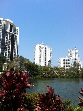 Bel Air on Broadbeach: Bel Air North Tower (view from Pacific Fair)