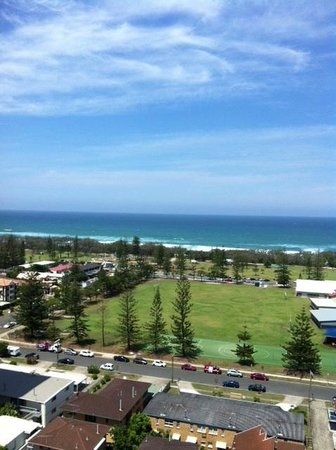 Bel Air on Broadbeach: Beach View from 2151
