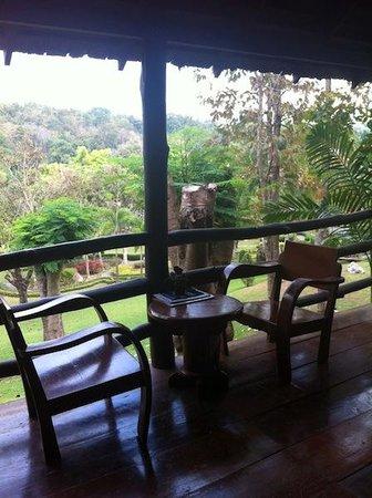 Baan Klang Doi: The terrace