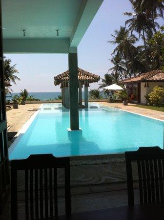 Shakti Villa : Blick vom Restaurant