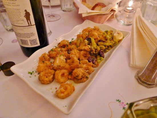 Zesta Cucina: Crispy calamari appetizer