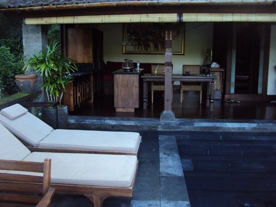 Bidadari Private Villas & Retreat - Ubud: Blick vom Pool auf Villa 4
