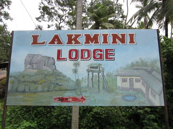 lakmini lodge sign