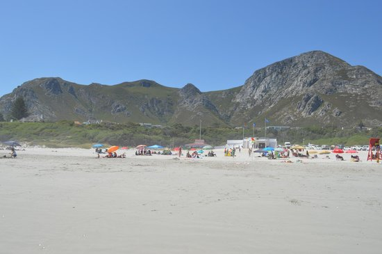 Grotto Beach: Overlooked by the majestic Overberg Mountains