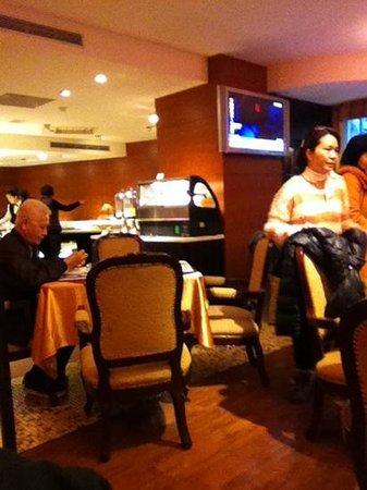 Hualien Charming City Hotel : breakfast area