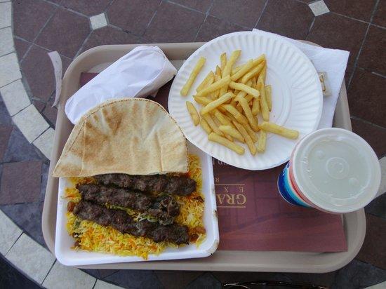 Aqua Park Qatar: Grilled Kofta Meal