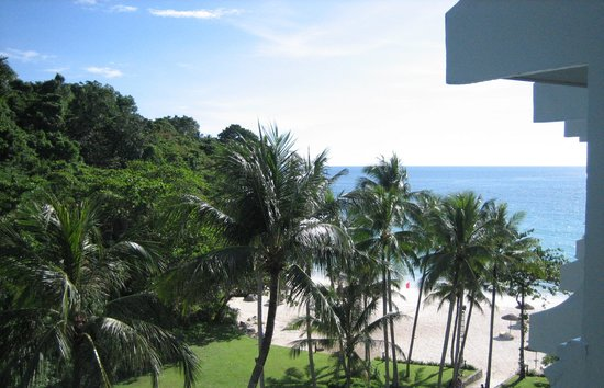 Le Meridien Phuket Beach Resort: The view from our room.