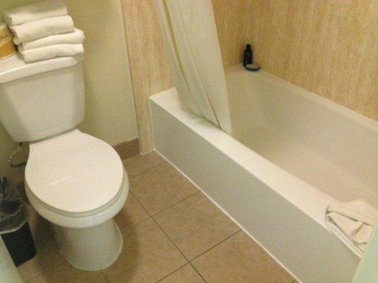 Rodeway Inn Convention Center: Bathroom