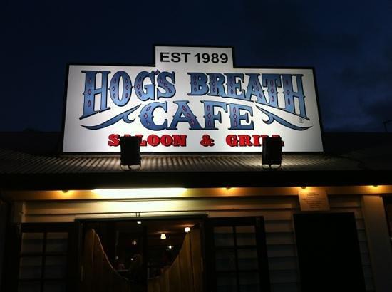 Hog's Breath Cafe : Near Seaworld.