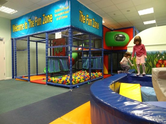 China Fleet Country Club: Soft-play area, in the main building.