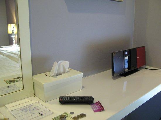 Lilac Relax-Residence: 房內附apple產品播放器