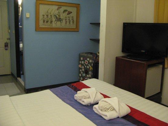 Sawasdee Sukhumvit Inn: 房間