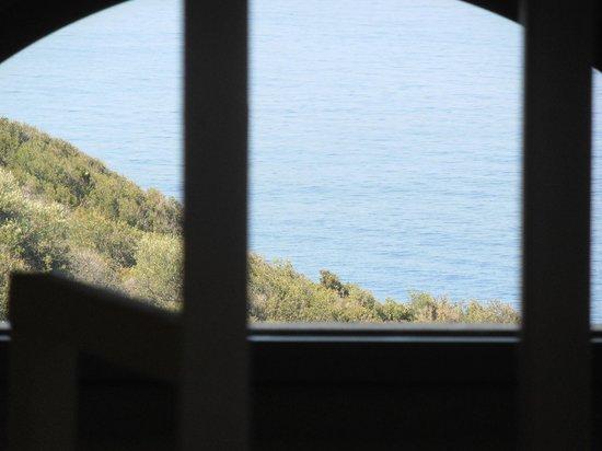 Katikies Manis: view from the bedroom's window