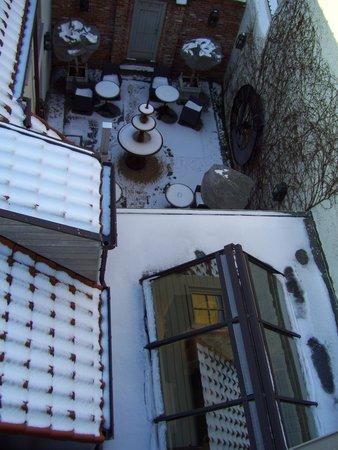 Pand Hotel Small Luxury Hotel: Vue de la chambre