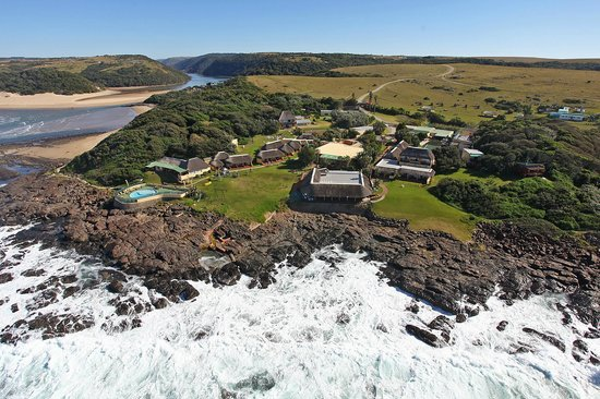 Willowvale, South Africa: Kob Inn from the air