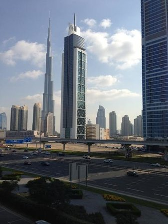 Villa Rotana - Dubai: View from my room.