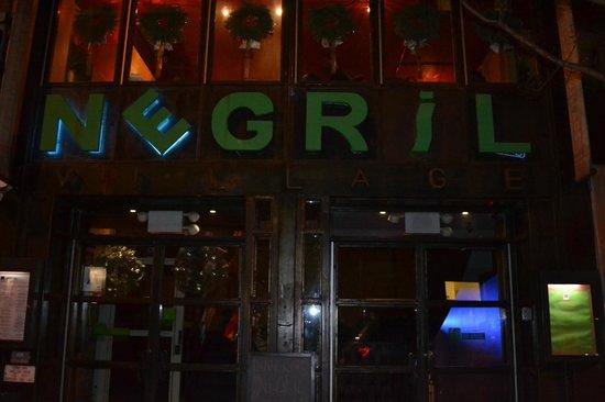 Negril Village : The entrance