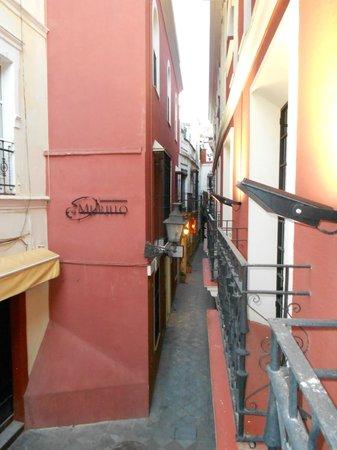 Hotel Murillo: dal balconcino della camera
