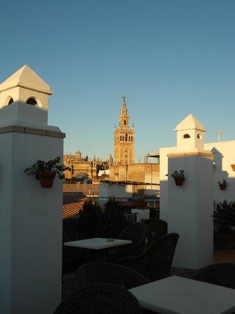 Hotel Murillo: vista dalla terrazza