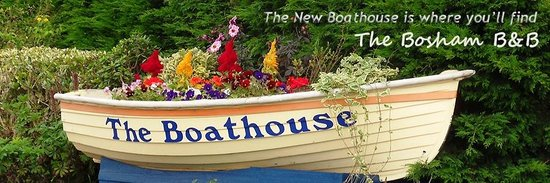 The Boathouse Bosham: Our Address