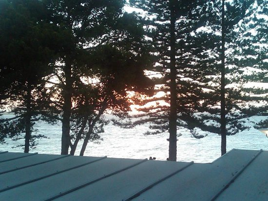 Ceduna Foreshore Hotel Motel: View of the bay from one of the Executive Queen Rooms