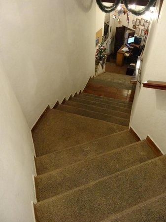 Hotel Real Guanajuato: Una delle rampe di accesso