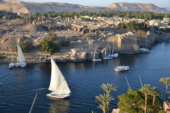 Sofitel Legend Old Cataract Aswan: panorama dalla camera