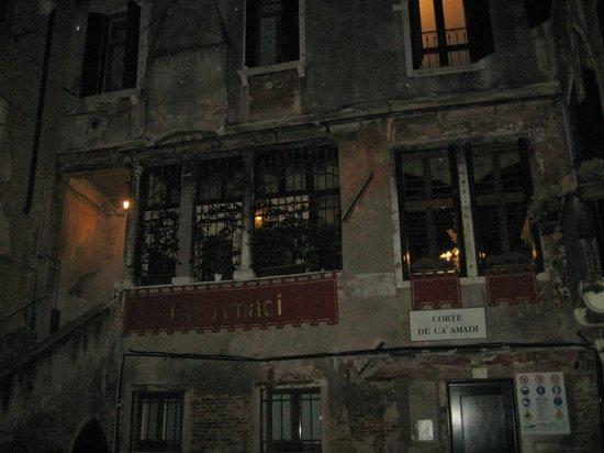 Locanda Ca' Amadi: Arrivée de nuit