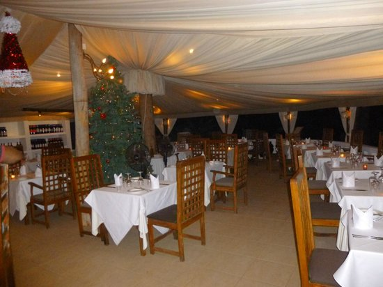 Ngala Lodge : Inside dining area
