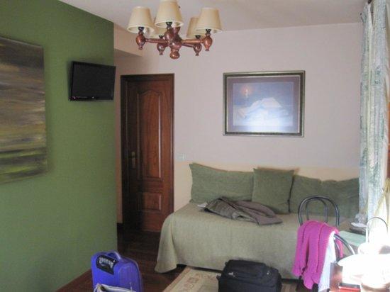 Casa Hotel As Artes: Habitación Dante