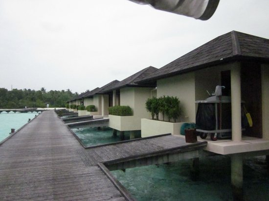 Paradise Island Resort & Spa: Jetty for the Water Villa