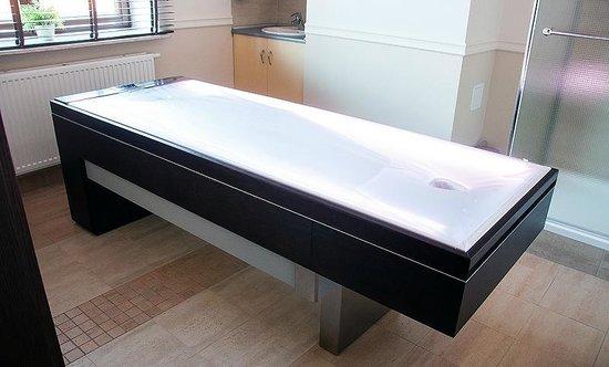Water bed massage