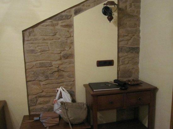 Hotel Pazos Alba : Habitación
