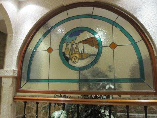 Hotel Pazos Alba : Vidrieras