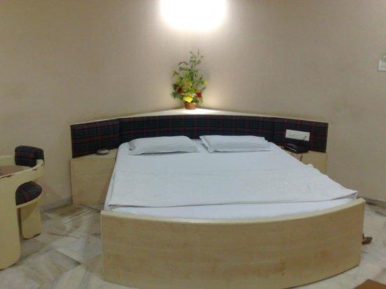 Hotel Volga: ベッド