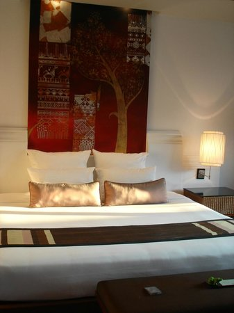 Ratilanna Riverside Spa Resort Chiang Mai: Bed