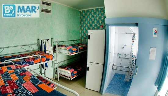 Be Mar Hostel: 6 bed dorm with bathroom!