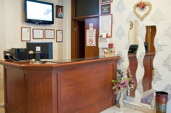 Ruyam Otel: Hotel Reception