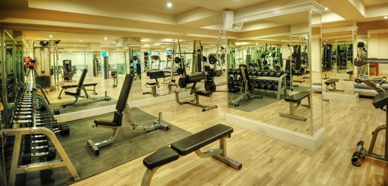 LVZZ Hotel Spa: Fitness Center