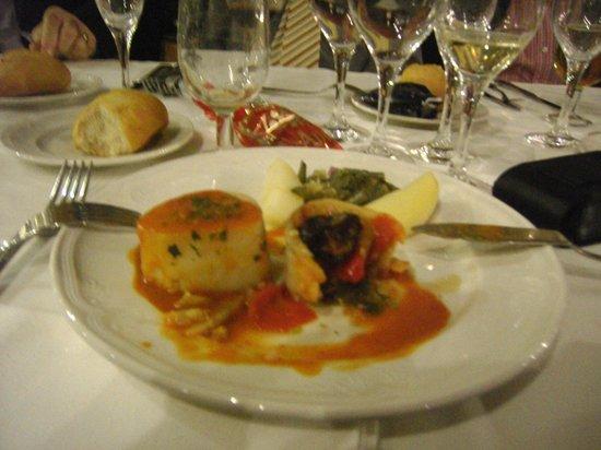 ALEGRIA Portomagno: oto plato de la cena que estubo muy bien