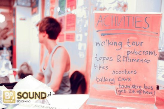 Be Sound Hostel : Free walking tour with your check in!