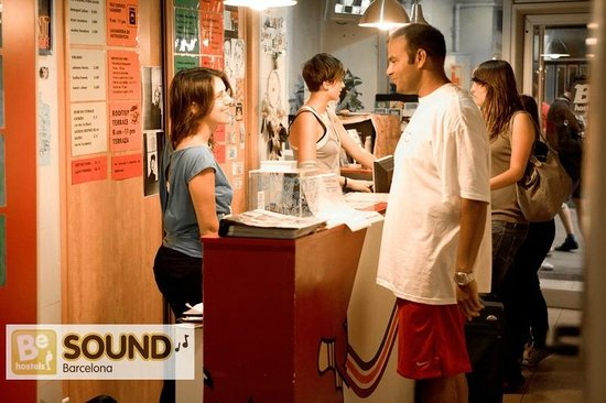 Be Sound Hostel : Helpful staff!! :-)