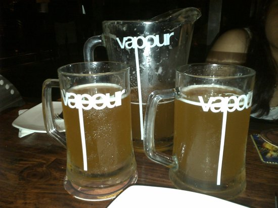 Vapour Pub & Brewery: The best beer in town