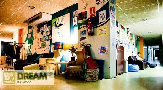 Be Dream Hostel : Common area